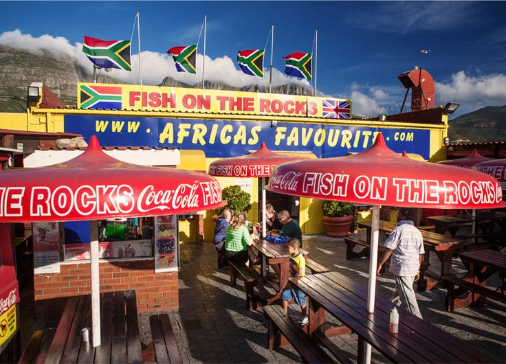 Hout Bay - famous Fish on the Rocks. #Africa #SouthAfrica #CapeTown