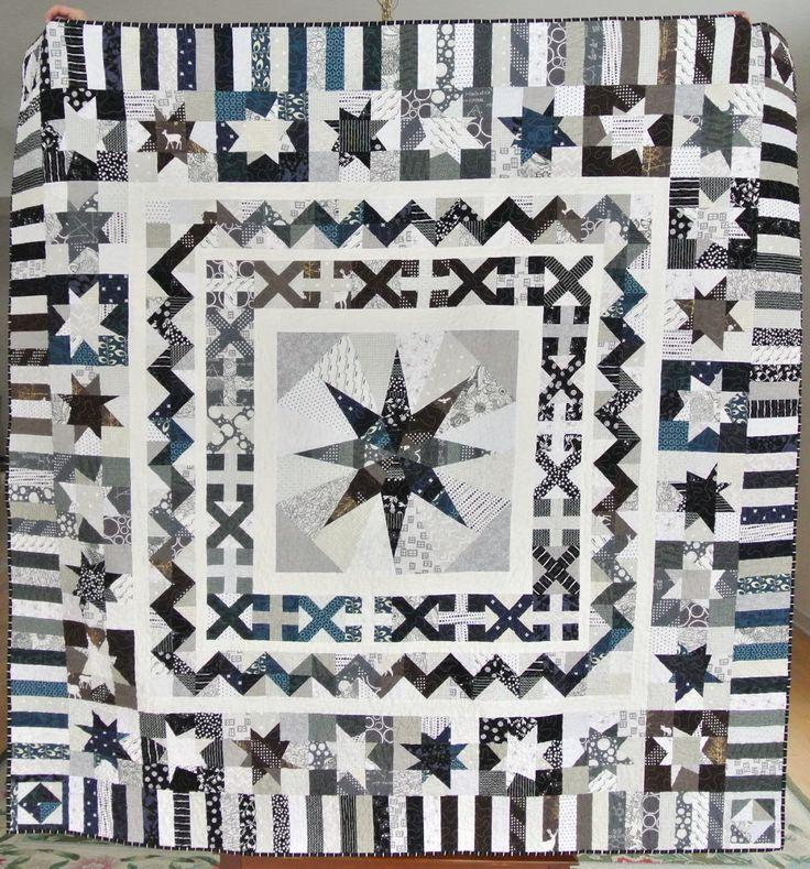 714 best Quilt sampler images on Pinterest   Quilt block patterns ... : milky way quilt pattern - Adamdwight.com