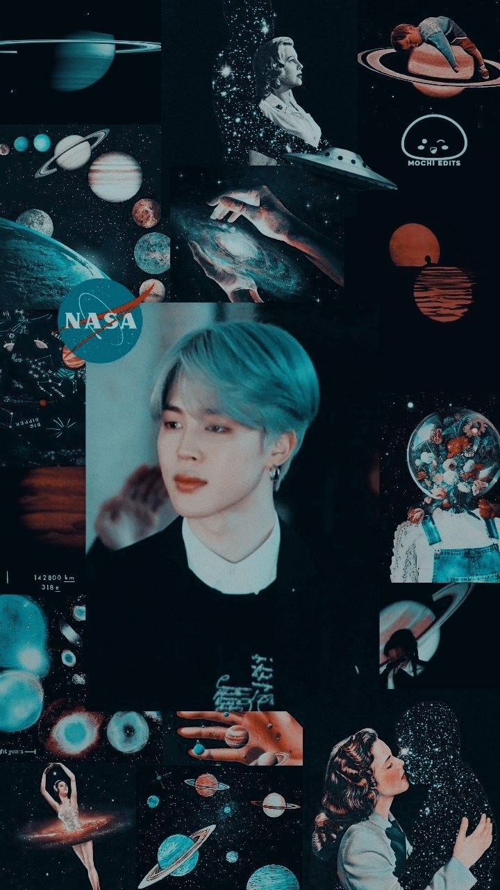 Jimin Aesthetic Wallpaper / Credits to Twitter/edits_mochi