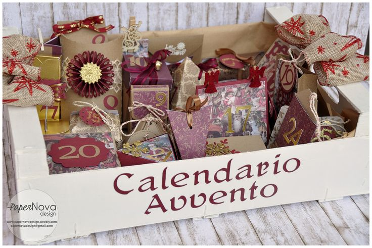 Calendario dell'Avvento 2015 - PaperNova Design
