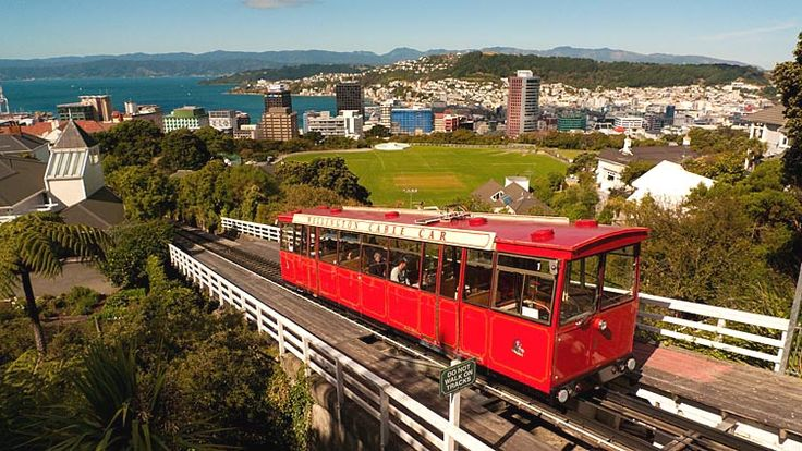 Wellington, Cable Car,  see more at New Zealand Journeys app for iPad www.gopix.co.nz