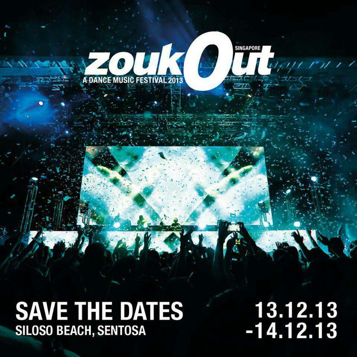 Day 2: ZoukOut 2013 is on the line. This will be a destination that we can't skip to get festival experience unlike any other whether it's the phenomenal line up or the jaw-dropping surprises. Enjoy the beach party dance music festival with many great performer here like Afrojack, Example & DJ Wire, Ferry Corsten, Krewella, Nervo & many more. Leave your former selves behind & join on a journey of transformation in  ZoukOut 2013. #SGTravelBuddy