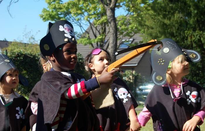 Piratenparty Kindergeburtstag feiern mit einer echten Schatzsuche: my-kinderparty