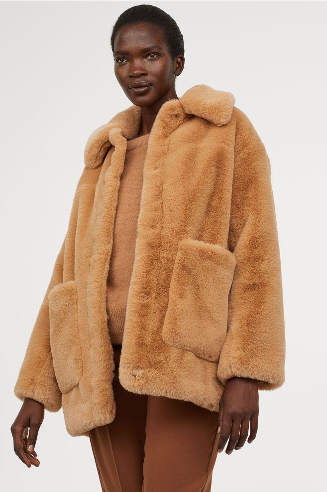 Faux Fur Jacket | Faux fur jacket, Fur jacket, Fur