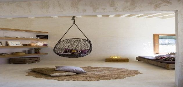 Rattan Hanging Chair for Bedroom