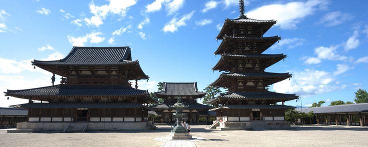 Horyuji - JNTO - Office National du Tourisme Japonais
