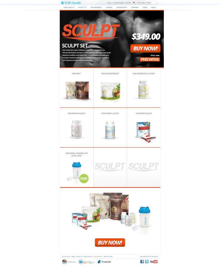 YOR Health Products | YOR Sculpt Set