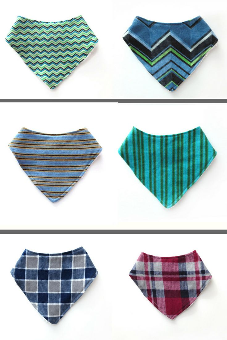 These cute and stylish bandana bibs are perfect for your little one. They are made with a soft flannel front and backed with terry cloth for extra absorbency. These bandana bibs make a great baby shower gift!  #babyboy #babyshowergifts #bandanabibs #babystyle