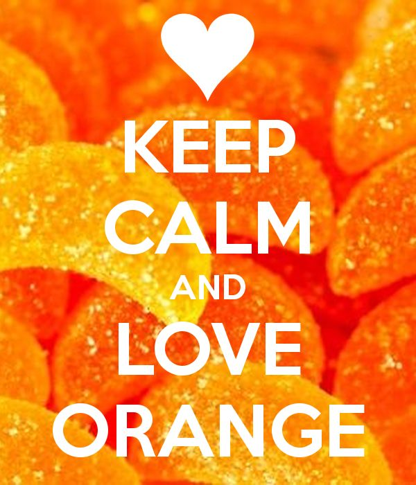 (38) KEEP CALM AND LOVE ORANGE - KEEP CALM AND CARRY ON Image Generator