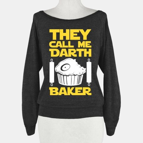 I am a cooking lord. All my followers on the dark side of the oven know me only as Darth Baker. I am strong with the dark side of the oven force. The light side fears me and my strength. If you too are adept at baking cookies, muffins cakes, and cupcakes than this fun darth baker shirt is perfect for your nerdy, geeky baking needs.