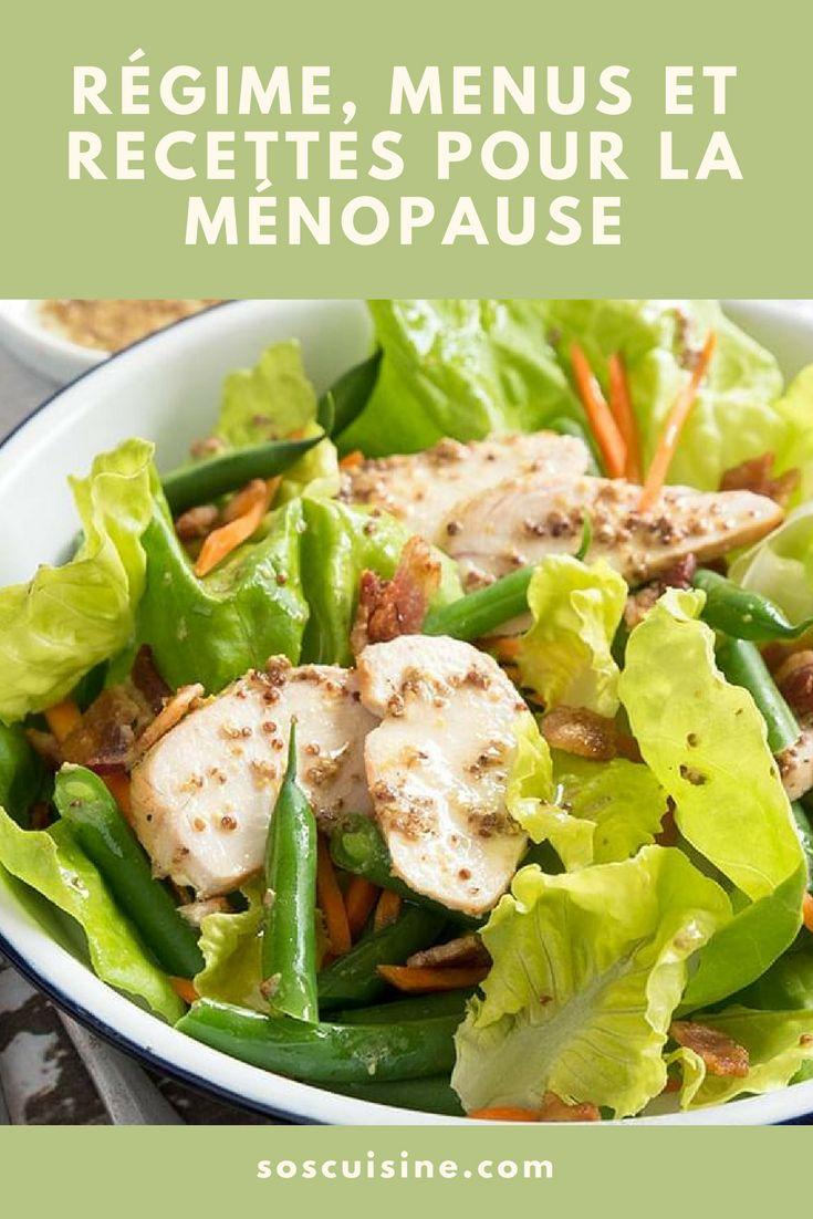Avec ce régime alimentaire spécial ménopause, adoptez une saine alimentation répondant spécifiquement aux besoins de la femme à la ménopause. Ces menus atténuent les inconforts et symptômes reliés à la ménopause et réduisent les risques de certaines maladies, telles que l'ostéoporose et les maladies cardiovasculaires.