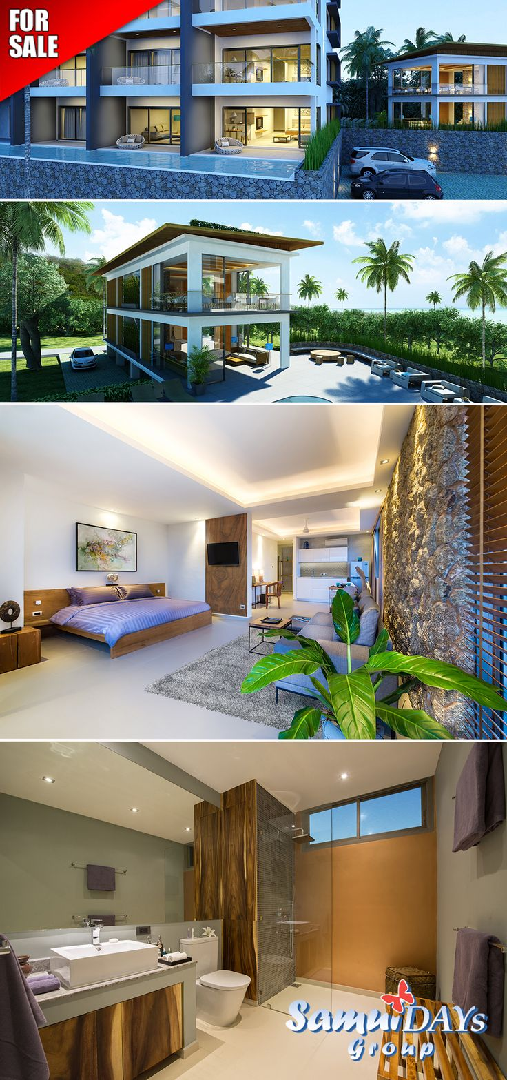 Plai Laem From A Developer! Turnkey  Units In A Serviced Residence On Koh Samui You Can Purchase 1 And  Apartments