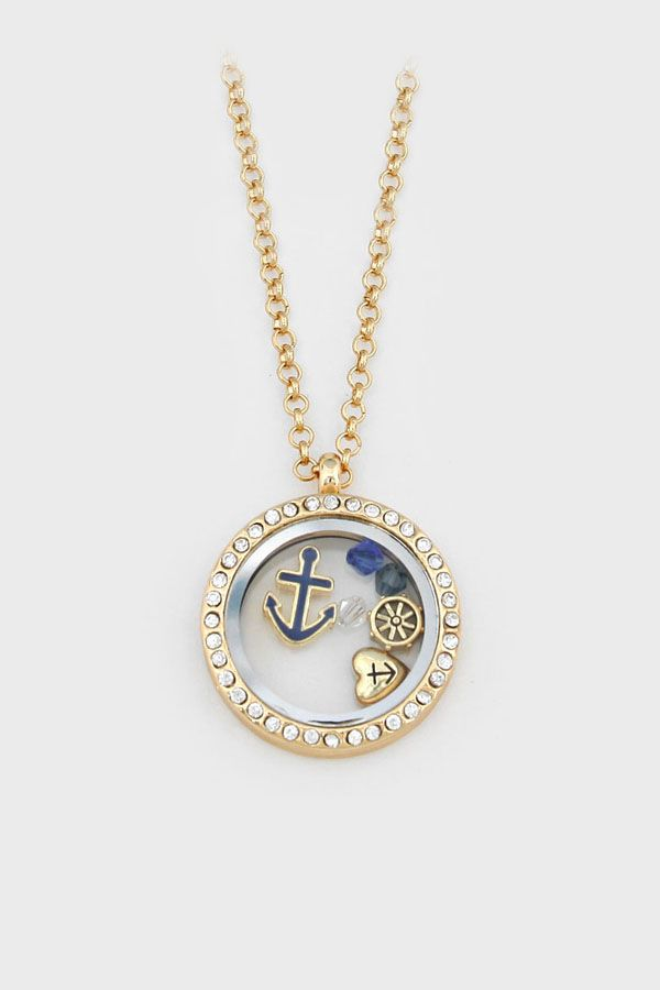 Nautical Memory Necklace ==