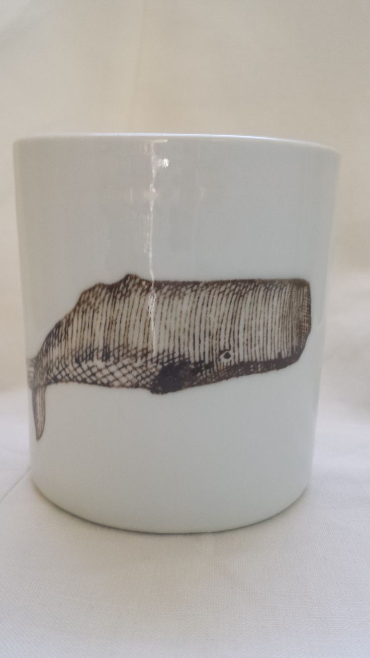 SKT Ceramics: Ceramic Cup in 'Blue Whale' (Handmade) (Made in USA)