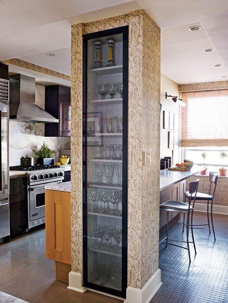 Beautiful Efficient Small Kitchens Creative Storage