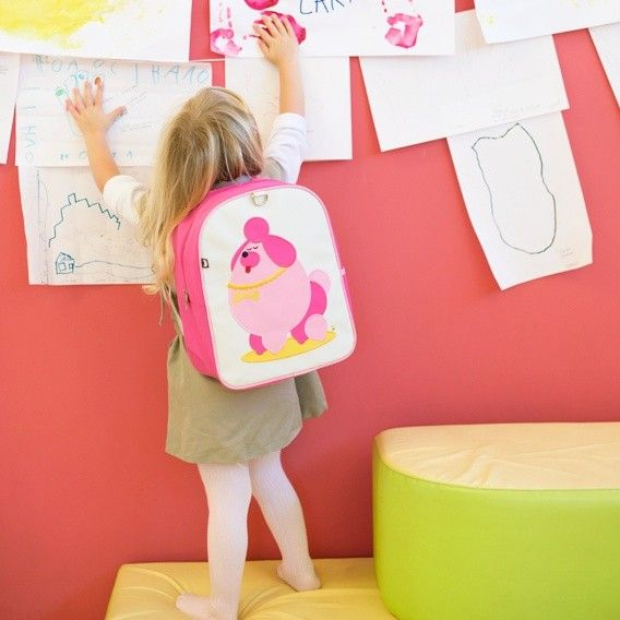 New backpack designs from Beatrix NY - cute poodle!
