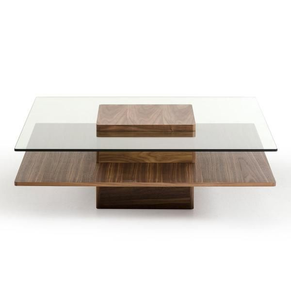 Give Your Home A Contemporary Makeover With This Modrest Clarion Coffee  Table. Two Shelves Give You Extra Store And Display Space.