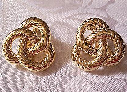 Monet Jewelry Monet Jewelry Brown Clip On Earrings X6Izv