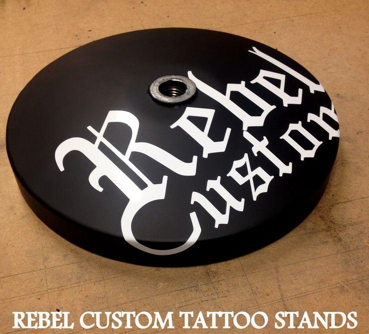 Tattoo Arm Rests by Rebel Custom