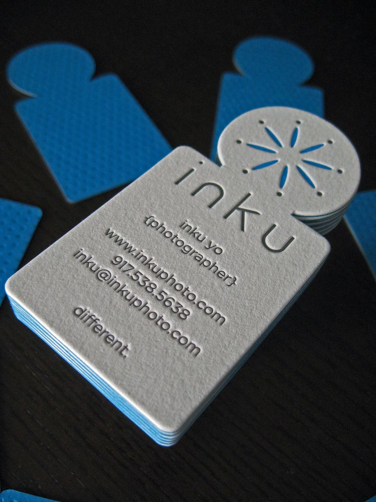 22 best Cool Die Cut Business Cards images on Pinterest | Card ...