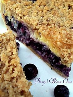 Blueberry Cream Pie. Update: This is a great summer pie!! I used Greek yogurt instead of sour cream. I also followed the adaptions the blogger listed.