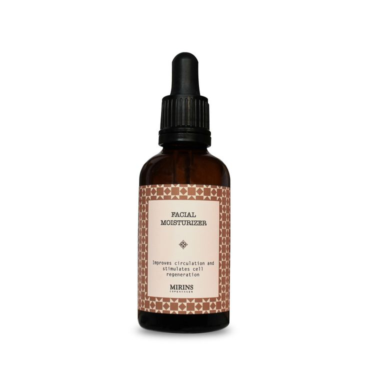 Facial Moisterizer The base oils are nourishing and protective while the essential oils aid in normalizing dry areas, improving circulation and stimulate cell regeneration.  Place a few drops of oil on the skin and massage in.