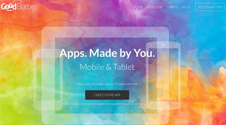 """""""GoodBarber est une vraie référence dans le domaine des générateurs d'applis mobile"""""""