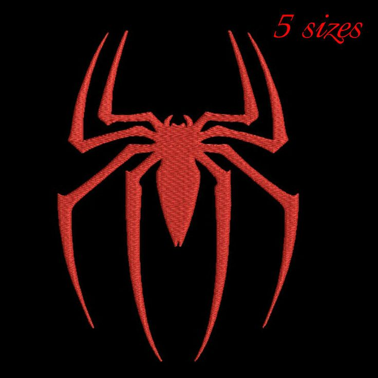 Spiderman embroidery design,digital download 4x4 5x7 6x10 hoop by GretaembroideryShop on Etsy