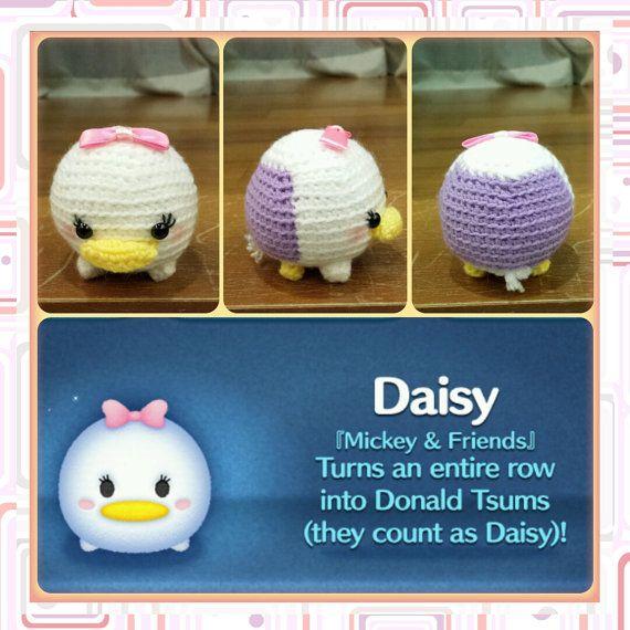 Handmade Tsum Tsum Amigurumi for Donald & Daisy by uDezignCrafts