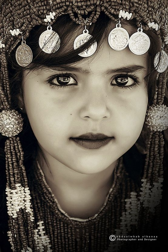 Yemen | Natural beauty of the child | © Abdualwhab Albanaa #world #cultures
