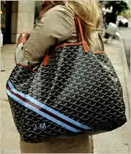 Goyard Tote..with visionary stripes!