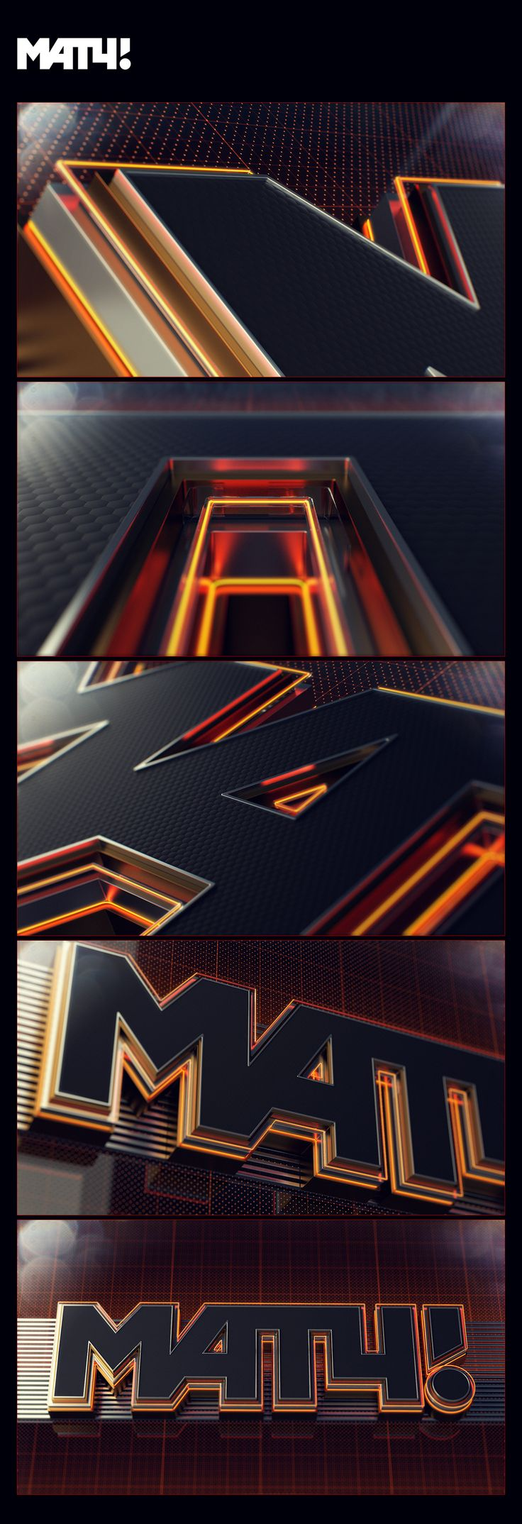Ideas for Match channel #2 on Behance