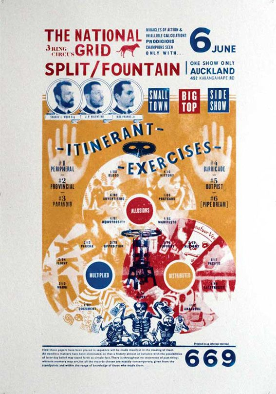 Itinerant Exercises: 3 Ring Circus