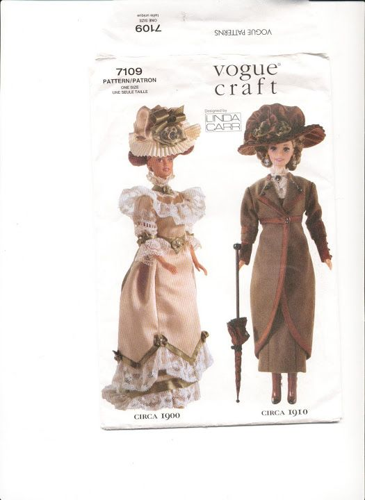 Fantastic Free Barbie Doll Patterns To Sew Vignette - Easy Scarf ...