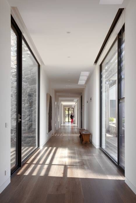 Alison Dodds Architect's have done a superb job on this Shoreham home which features our Washed Chestnut American Oak timber floors. www.royaloakfloors.com.au