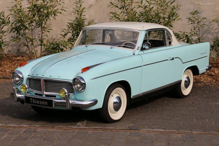 1959    Goliath   Hansa 1100 Coupé Serie I