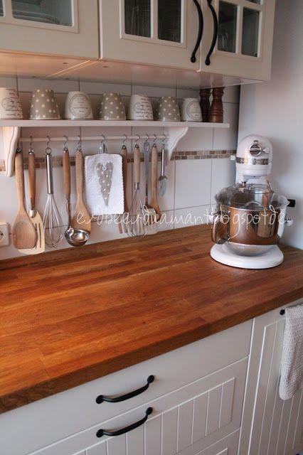 ..aus der Küche :)       *           *     Ich mag's nicht, wenn zuviel in der Küche dekoriert ist...       *             *     Die meiste ...