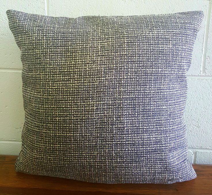 Exclusive Tweed Design Cushion Pillow Cover by Peacock and Penny.  40cms x 40cms Classic Style. Superb Quality. One only. by PeacockandPenny on Etsy