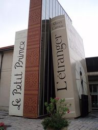 Cité du Livre, Aix-en-Provence. Repinned by Spark Strategic Ideas www.sparksi.com