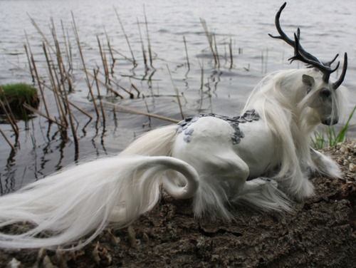 And by the loch, dark and deep,  Offers to you an enchanted sleep.
