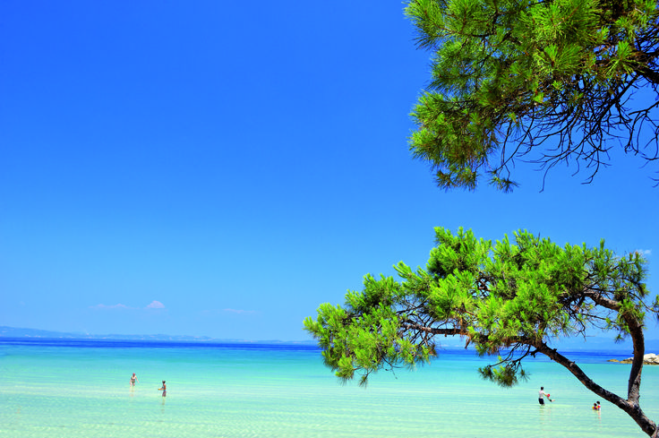 Kavourotrypes beach - Halkidiki - Greece