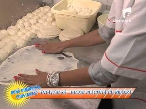 Învățăm să ... facem plăcintă cu brânză cu Nicoleta Mocanu - 26 iunie 2013 - YouTube