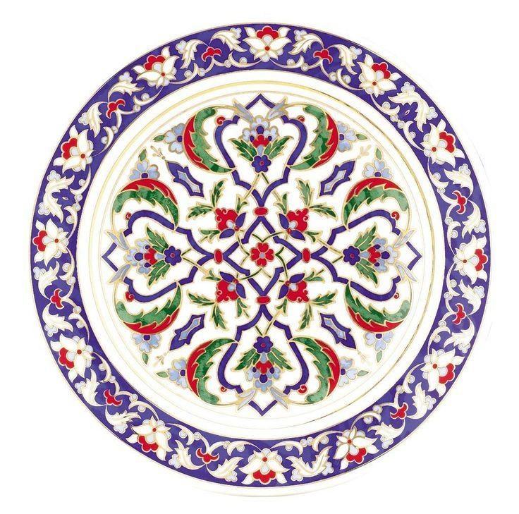Lenger 25 cm Duvar Tabağı | K√ºtahya Porselen