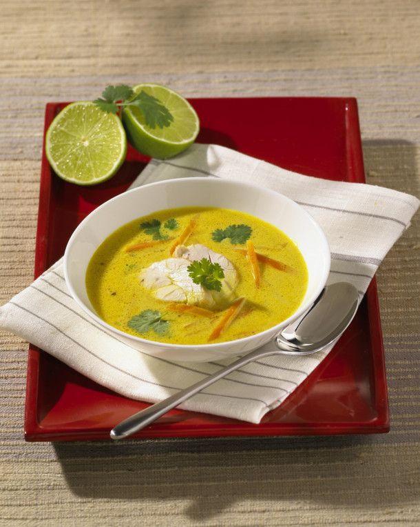 Unser beliebtes Rezept für Thai-Currysuppe mit Hähnchen und mehr als 55.000 weitere kostenlose Rezepte auf LECKER.de.
