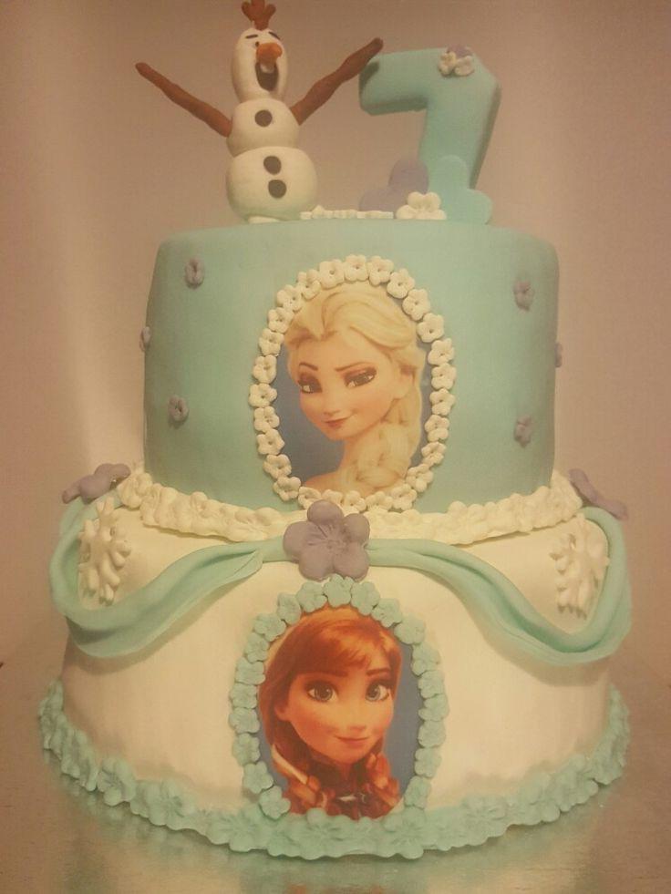 Elsa&Anna&olaf frozen