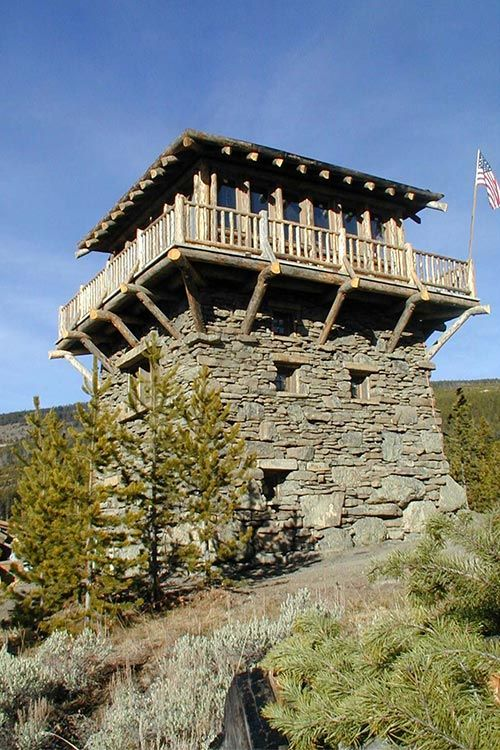 1000 images about fire lookout tower on pinterest for Fire tower cabin plans