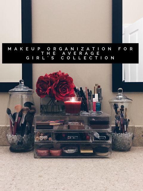Trendy & Tidy: Makeup Organization