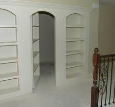 Safe room. though it looks like a secret hideout! haha