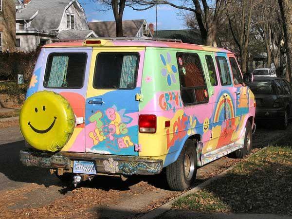 The ultimate hippie van