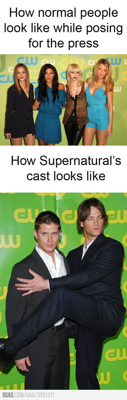 hahaha and that's why I love that show :)
